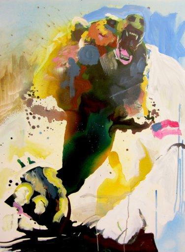 Bearstronaut (Brad Neely Tribute)