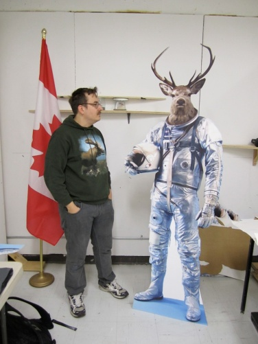 Myself with Elkstronaut