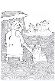 Jesus Helps a Traveller