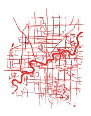 Map of Edmonton