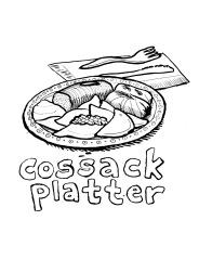 cossack platter