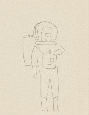 Concept sketch, became t-shirt